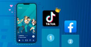 TikTok, l'application la plus téléchargée dans le monde devant Facebook